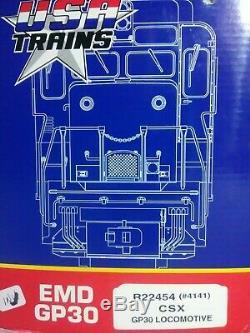USA Trains G Gauge 4141 CSX EMD GP30 Diesel Locomotive R22454 TSJT