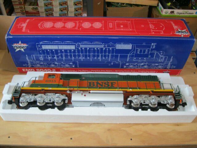 Usa Trains G Gauge Emd Sd40-2 R22306 Bnsf Sd40-2 1st #6915 Locomotive, Ob