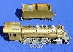 Varney Brass'O' Gauge 4-6-0 Locomotive & Tender EX 1947