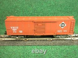 Vintage American Flyer S Gauge #25042 Erie Operating Box Car Very Good /Boxed