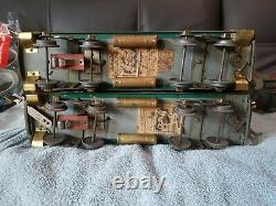 Vintage American Flyer prewar standard gauge Lone Scout set in good condition