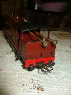 Vintage Hornby 0 Gauge Lms 4-4-2 Clockwork Tank Locomotive