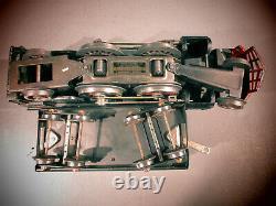 Vintage Lionel Standard Gauge Gray 385E Steam Engine WithTender. RUNS WELL