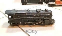 Vintage Lionel Train Set O Gauge 2025 Engine, Cars, Metal Track & ZW Transformer