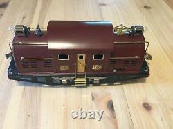 Vintage Lionel Train Set Standard Gauge With #380 Engine And 3 Cars
