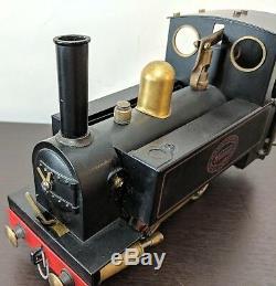 Vintage Mamod SL1K Live Steam Engine Model O Gauge Locomotive Works Great