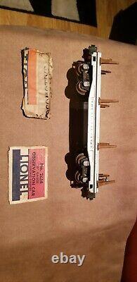 Vintage Prewar Lionel O Gauge No. 763E Hudson Steam Engine And 118 Car And Box