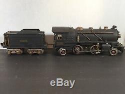 Vintage pre-war LIONEL LINES O gauge 262E locomotive & boxcar railroad TRAIN
