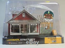 WOODLAND SCENICS O SCALE COUNTRY STORE EXPANSION BUILT & READY o gauge WDS5845