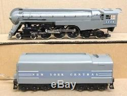 Williams Brass NYC/New York Central 5446 Dreyfus Hudson 4-6-4 O-Gauge USED