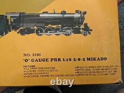 Williams No. 5100 O Gauge Pennsylvania 2-8-2 Steam Engine Crown Edition