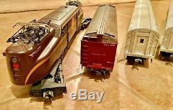 Williams O Gauge GGI Locomotive with 5 Car Passenger Train