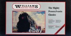 Williams O Gauge T-1 Pennsylvania Classic 4-4-4-4 Locomotive Engine #5505U